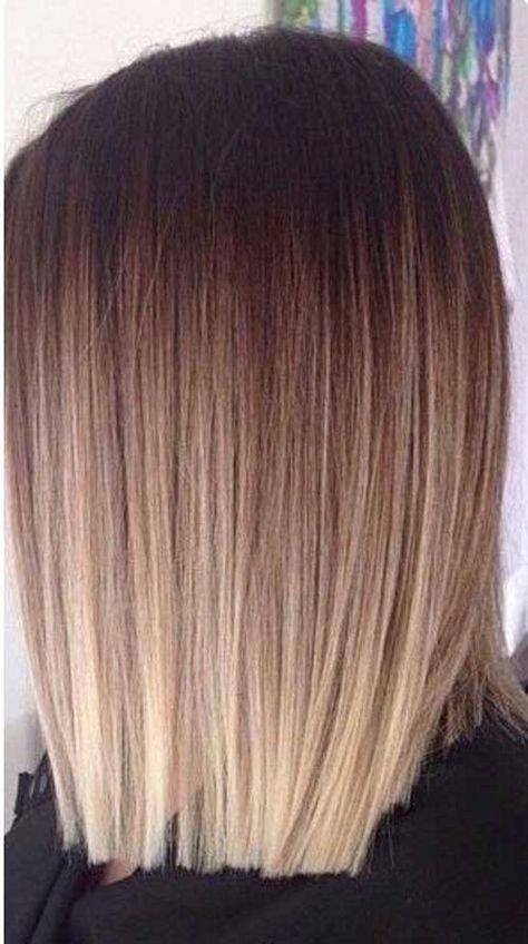 Tinte cabello largo castaño reflejos mezcla