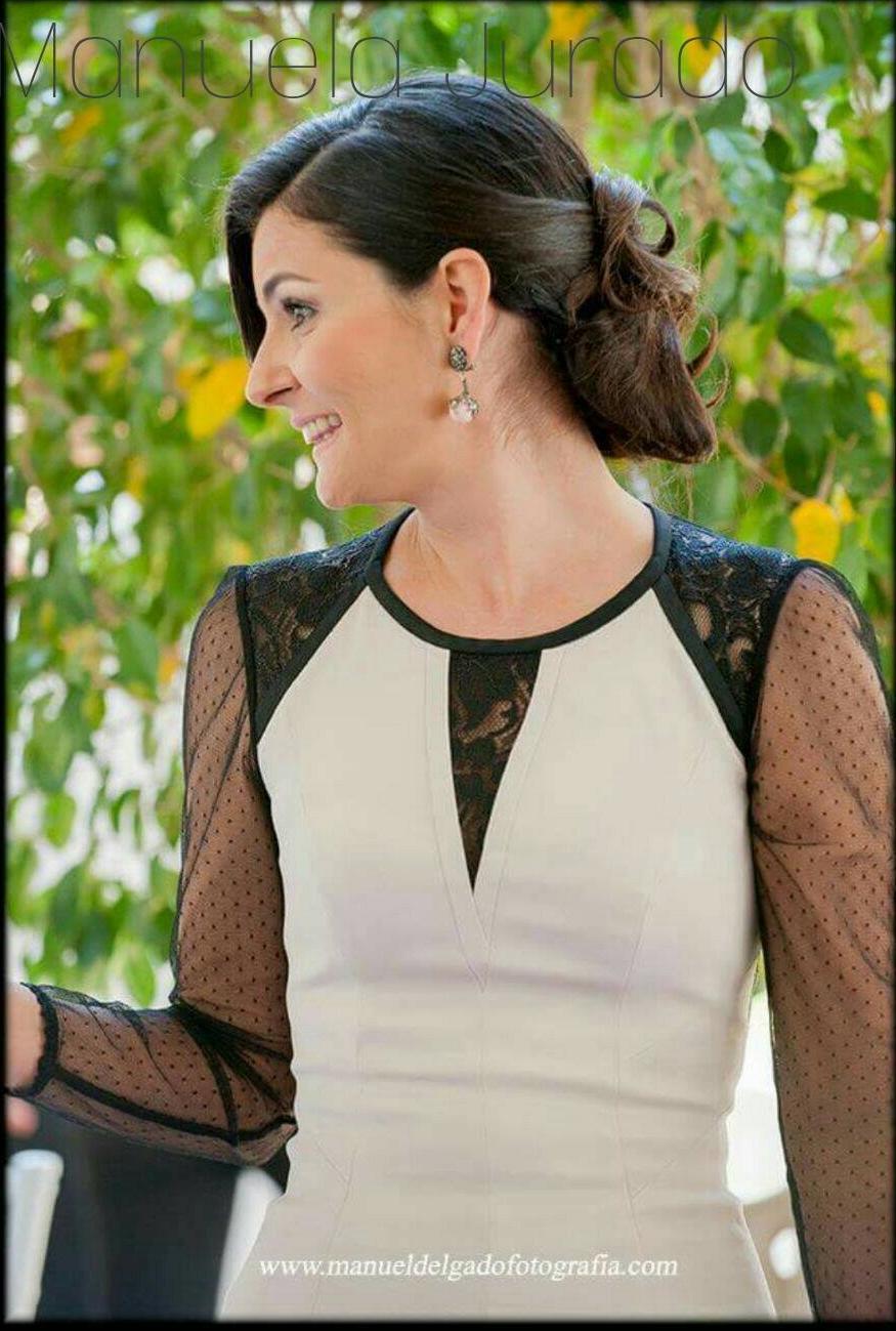 Peinados para bodas invitados boda estilo moreno