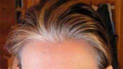 Tinte cabello corto canas