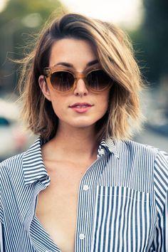 Tinte cabello corto tono dorados reflejos luminosos
