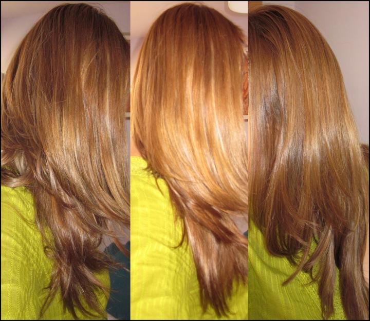 Tendencias del cabello estilo flash