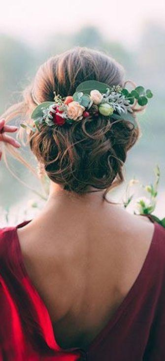 el tiempo en cordoba afecta al peinado novia con extensiones recogidas
