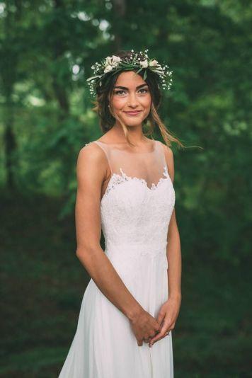 el tiempo en cordoba afecta al peinado novia con trenza mechones paralelos