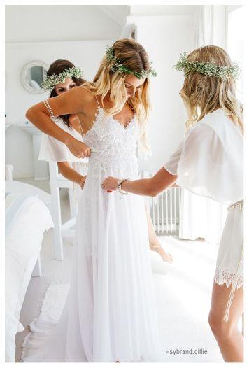 el tiempo en cordoba afecta al peinado novia de bodas al aire libre