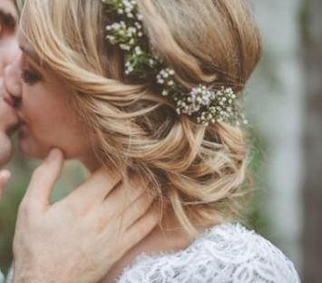 el tiempo en cordoba afecta al peinado novia de pelo mechones cortos
