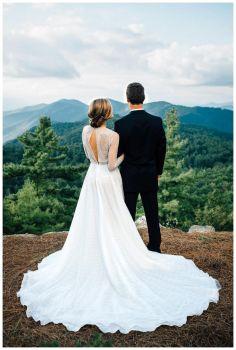 09 Fotos de boda contemplando el paisaje