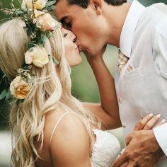 17 Fotos de boda con beso en los labios