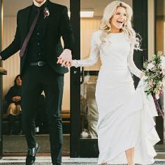 19 Fotos de boda recién casados