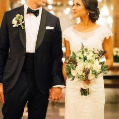 21 Fotos de boda miradas cómplices