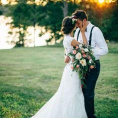 22 Fotos de boda actitud cariñosa