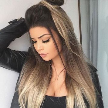 Mechas californianas tendencia sombre