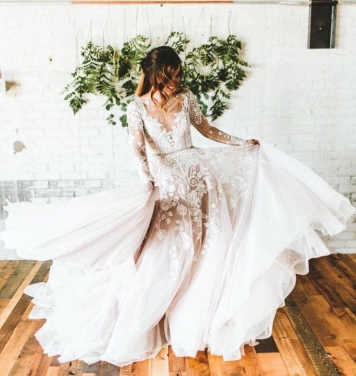 peinados de novia con mechones rizos en córdoba