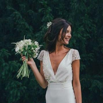 peinados de novia con semirecogidos y trenzas en córdoba