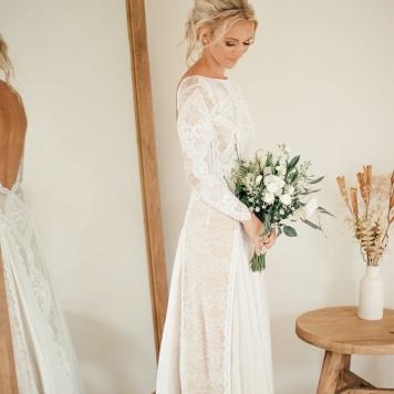 peinados de novia de lado en córdoba