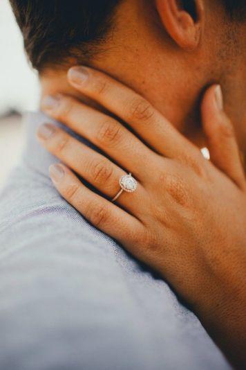 Tipo 02 Anillo de Compromiso para novia