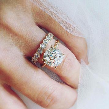 Tipo 03 Anillo de Compromiso para novia
