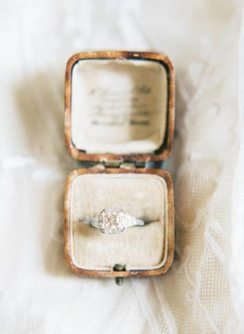 Tipo 12 Anillo de Compromiso para novia