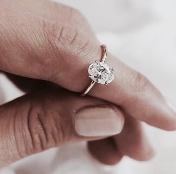 Tipo 18 Anillo de Compromiso para novia