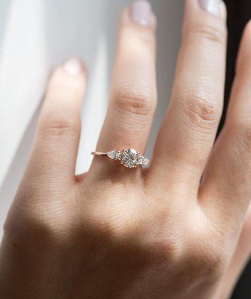 Tipo 20 Anillo de Compromiso para novia