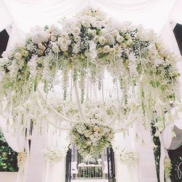 altar boda civil aire libre