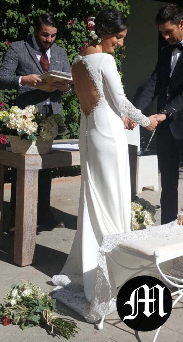 Boda gema recogido ceremonia Cordoba