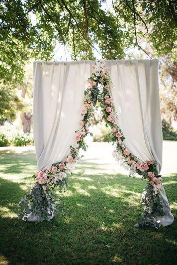 como hacer un altar para boda civil
