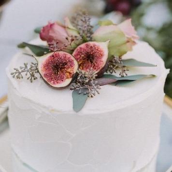 Idea 1 tarta de boda Nata e Higos