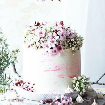 Idea 6 tarta de boda flores de almendro