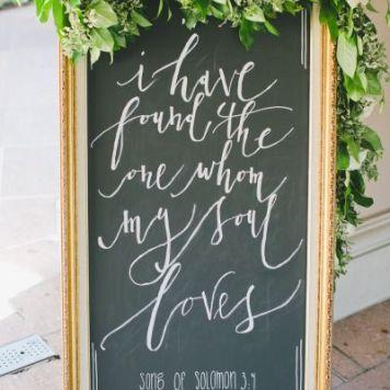 Ideas carteles de boda al aire libre