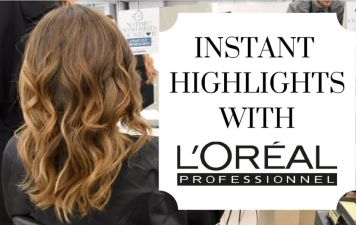 Mechas instant highlights Bronde claro