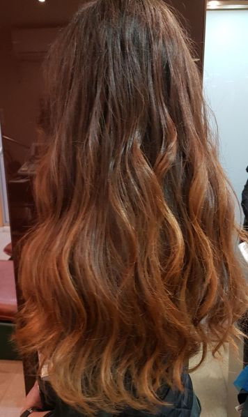 Mechas instant highlights Cobrizo Sombre 2