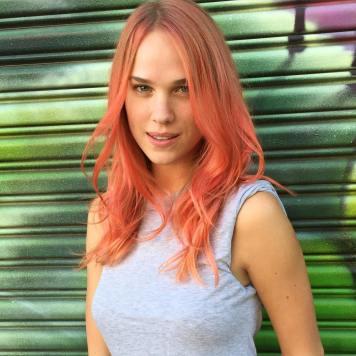Colores de pelo de moda vibrantes