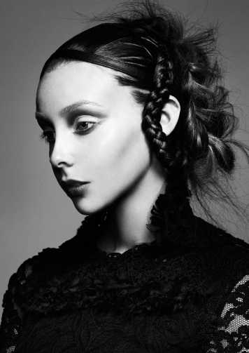 Corte de pelo y peinado inspiracion Victoriana