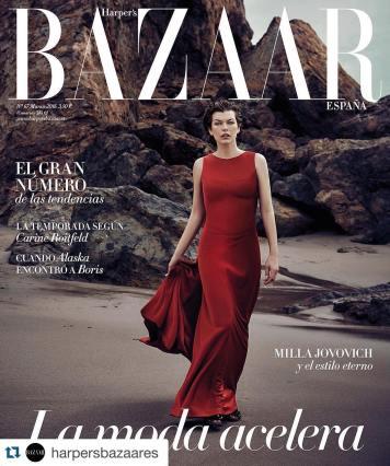 Fotos de Moda de Actualidad portada Bazar