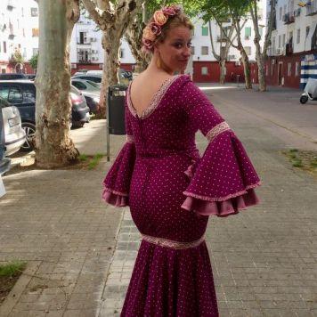 Recogidos flamenca para Pelo Corto en Baena