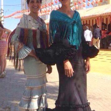 Recogidos flamenca para Pelo Corto en Palma del Rio
