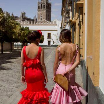Recogidos flamenca para Pelo Corto en Puente Genil