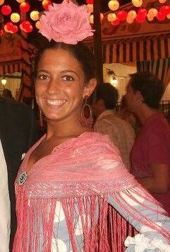 Recogidos flamenca para Pelo Corto para el Rocio