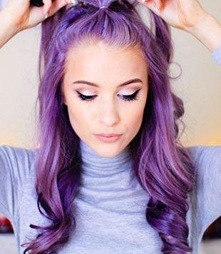 Teñir el pelo violeta en Cordoba