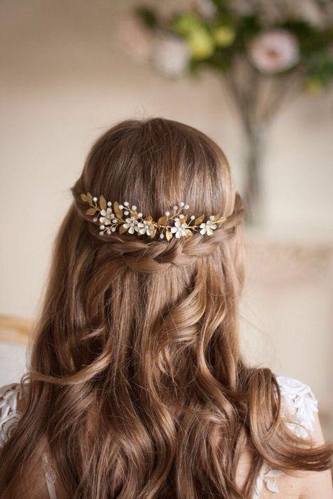 25 peinados de primera comunion para pelo largo baena - Peinados sencillos para comunion ...