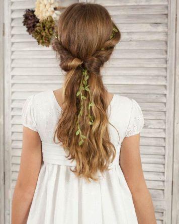 25 Peinados de Primera Comunion para Pelo Largo Palma del Rio