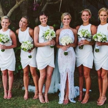 El Estilismo para damas de honor de tu boda Posadas