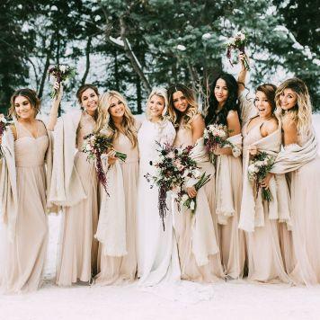 El Estilismo para damas de honor de tu boda Pozoblanco