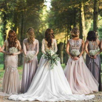 El Estilismo para damas de honor de tu boda Rute