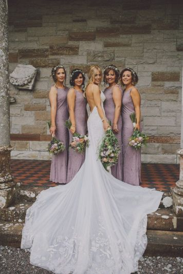 El Estilismo para damas de honor de tu boda Santaella