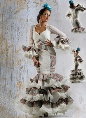 Feria y Fiestas Barriada de los Angeles Alcolea Flamenca Flores Azules