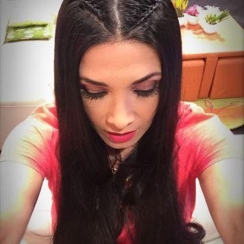 Peinados de trenzas de lado y cabello suelto Peñarroya Pueblo Nuevo