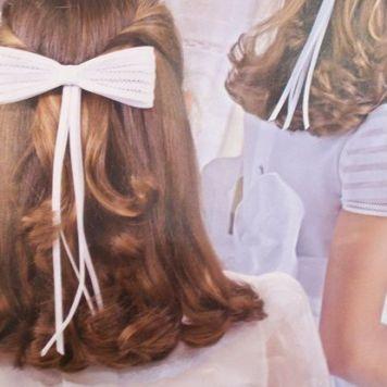 Peinados para Primera Comunion pelo Semirecogido Antequera