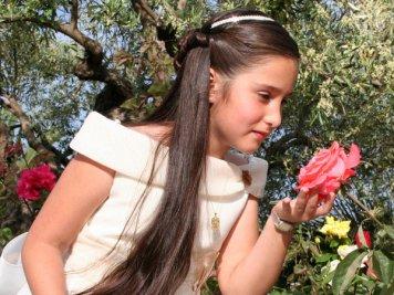 Peinados para Primera Comunion pelo Semirecogido Fernan Nuñez