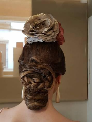 Peluqueria y Maquillaje Flamenca para Peinados 2018 Colon Esther